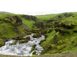 Fimmvörðuháls hike, Iceland