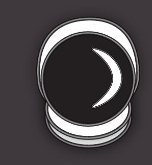 Astronaut badge in Illustrator