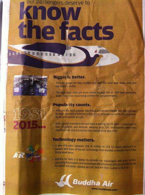 Yeti Airlines Versus Buddha Air   Lexlimbu