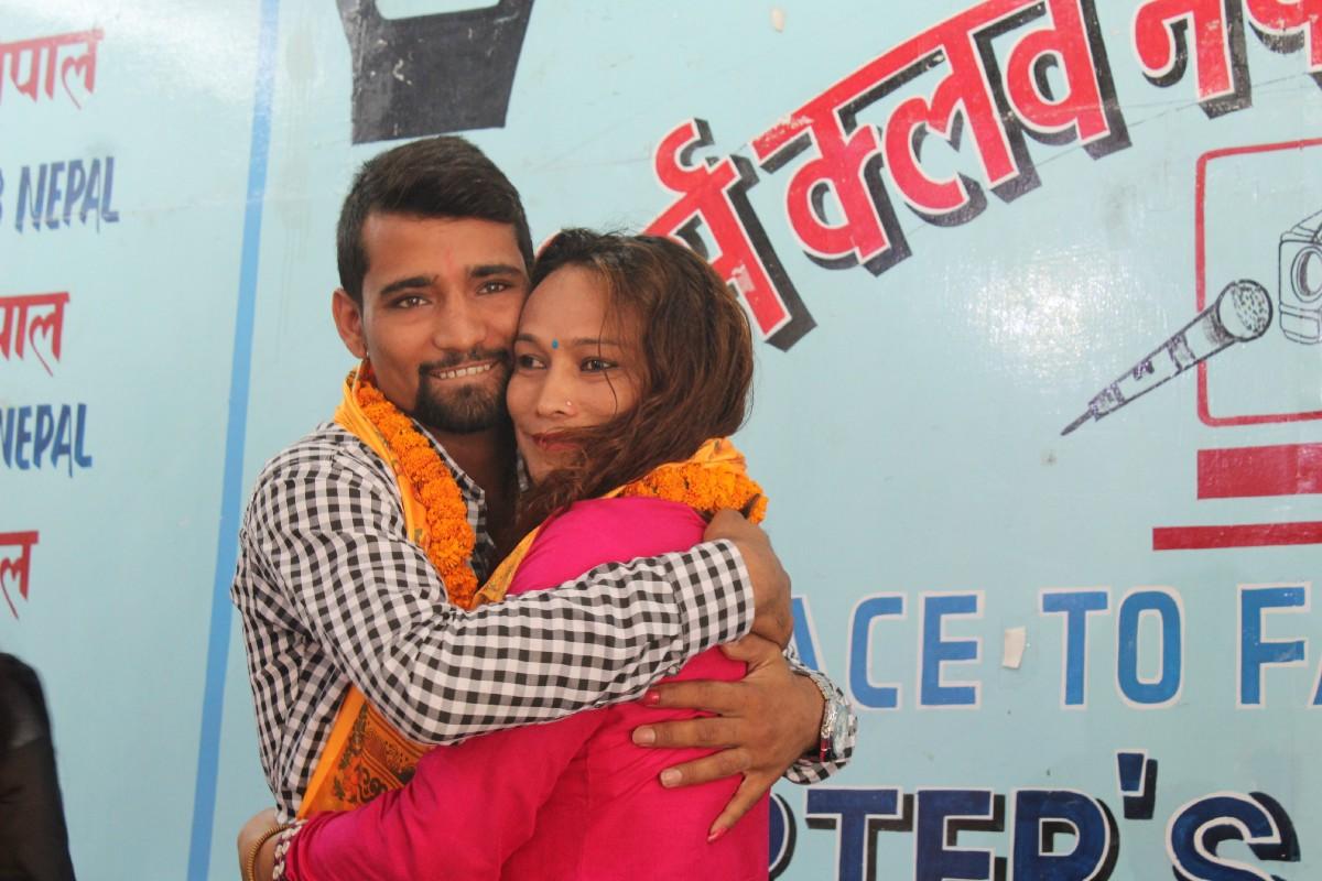 Image result for transgender nepal married