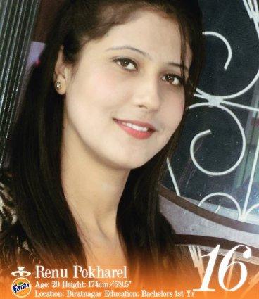 Renu Pokharel Miss Nepal 2013