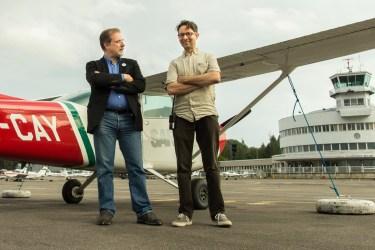 Juha Krapinoja ja Mikko Saarisalo. Kuva Harri Mustonen.