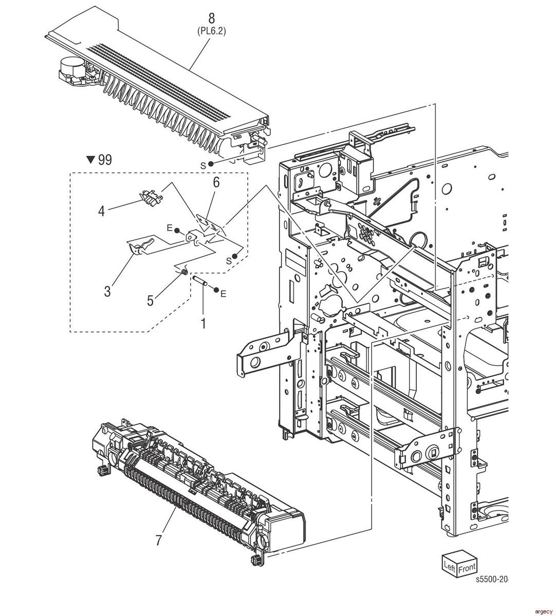 Lexmark Printer Parts Home