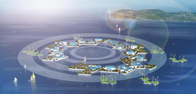 Projekti I Mbështetur Nga Kombet E Bashkuara : Të Jetosh Në Oqean Së Shpejti Nuk Do Të Jetë Më Utopi
