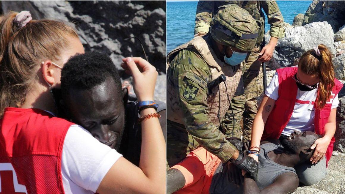 Punonjësja E Kryqit Të Kuq Sulmohet Sepse I Dha Një Përqafim Emigrantit, Mbështetësit Reagojnë