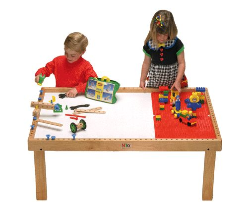 Nilo Mulit-Activity Table and Melissa and Doug Train Set – Learning ...
