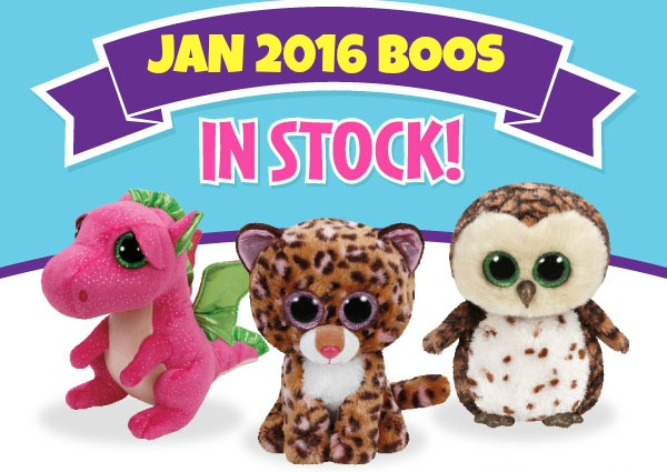 New Beanie Boos Jan 2016 feature