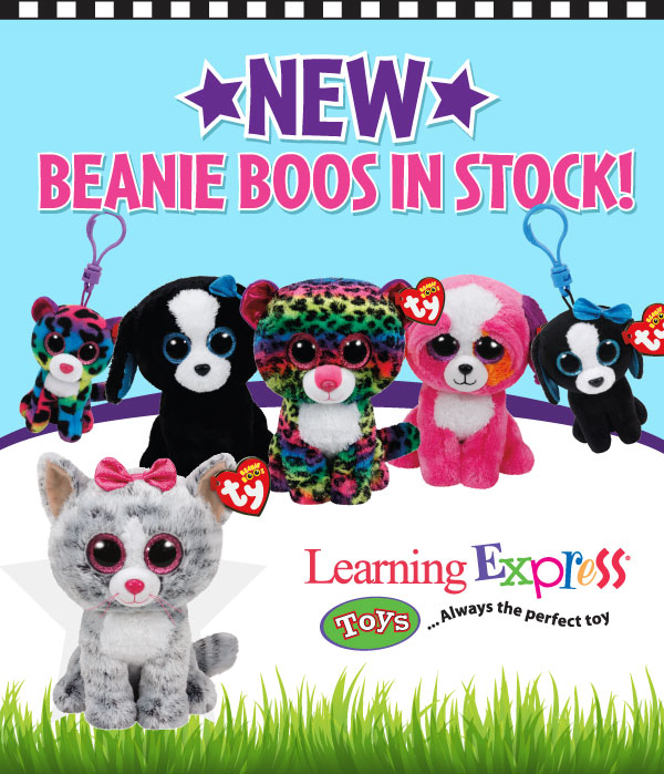 a000883e613 Our new Beanie Boos for Spring 2016 have arrived at Learning Express!