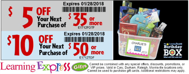 2017 Google Post Tiered Coupon