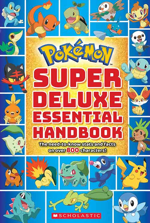 Super-Essential-Pokemon-Book