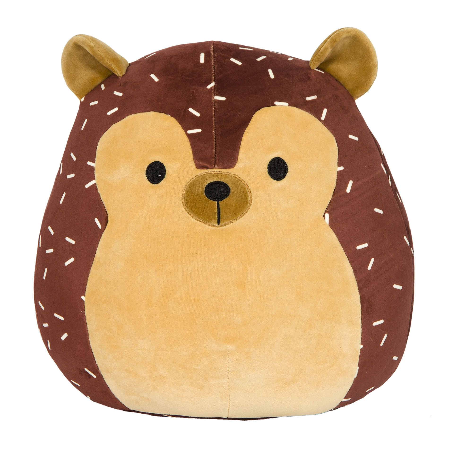 Squishmallows.BrownHedgehog.Hans_