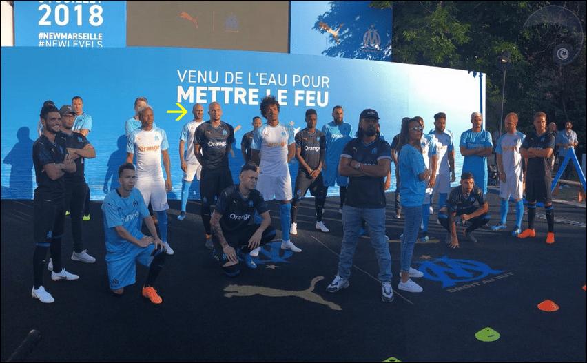 حضور المدافع أيمن عبد النور: أولمبيك مارسيليا يقدم الازياء الرسمية للموسم القادم