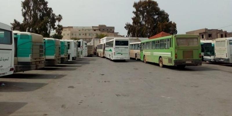 شركة النقل بباجة: تعطل سفرات الخطوط البعيدة والتلويح بالإضراب