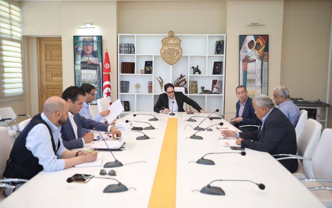 وزير الشؤون الثقافية يتابع آخر تحضيرات أسبوع الأوبرا الايطالية بتونس والجم