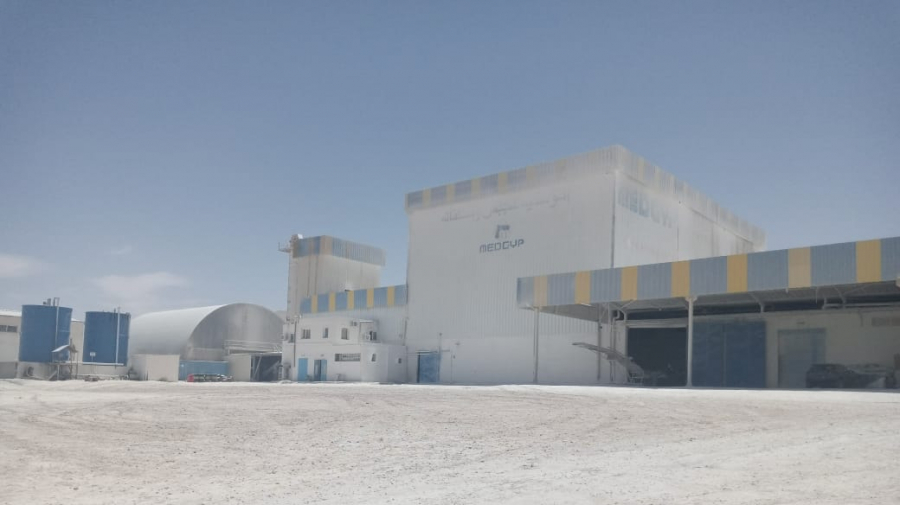 تطاوين: توقف الإنتاج بمصنع الجبس إثر دخول العملة في إضراب
