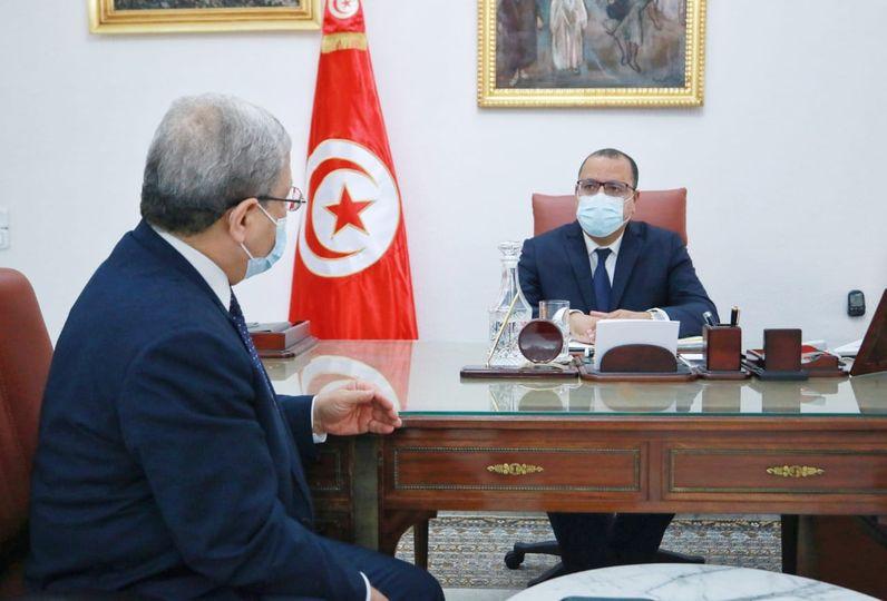 متابعة مخرجات زيارات ليبيا وقطر وجنيف محور لقاء رئيس الحكومة بوزير الشؤون الخارجية والهجرة والتونسيين بالخارج