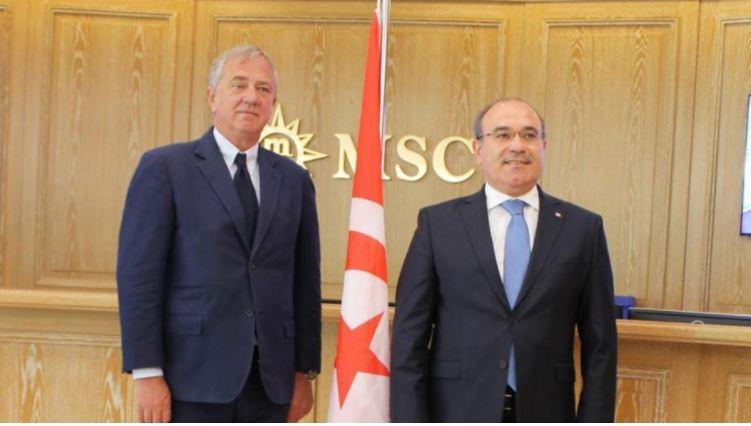 """شركة """"MSC"""" تعيد برمجة الوجهة التونسية انطلاقا من سنة 2022"""