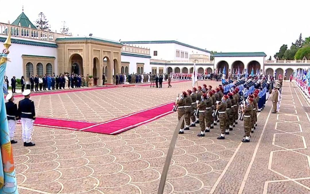 موكب الاحتفال بالذكرى الخامسة و الستين لانبعاث الجيش الوطني