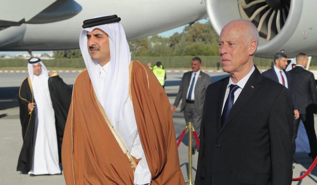 هل طلب الغنوشي تدخل أمير قطر لفائدته؟