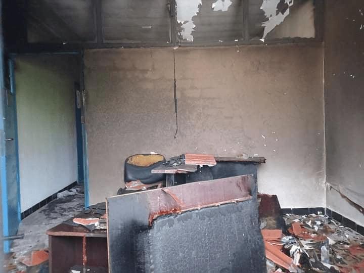 """ملابسات حرق مكتب المحامي """"عمر المولهي"""" بالكاف"""