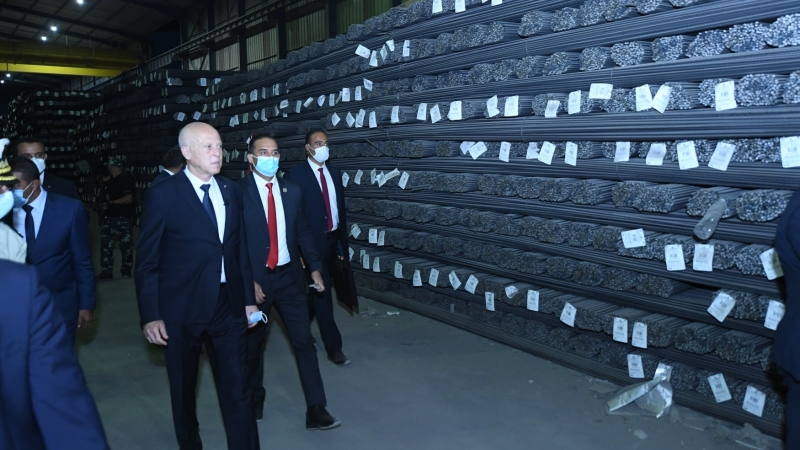 وكيل الجمهورية بالمحكمة الابتدائية بزغوان ينفي رفع الحجز عن 30 ألف طن من الحديد