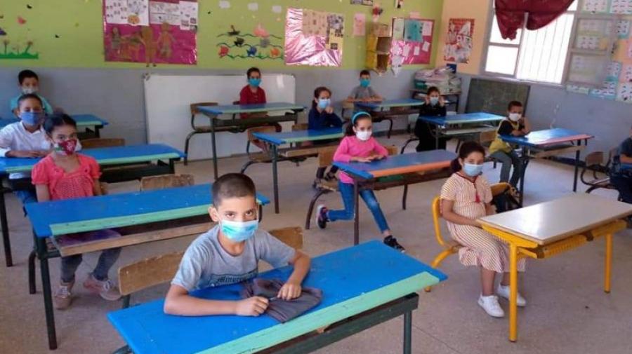 إلزاميّة إرتداء الكمامة لتلاميذ الإبتدائي