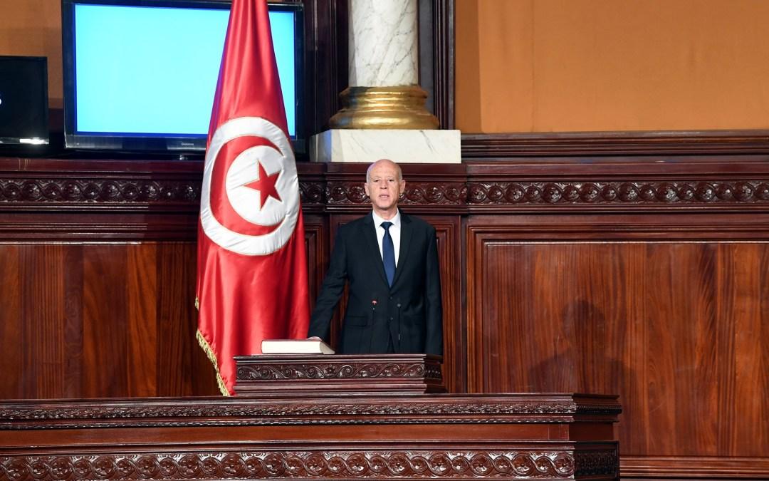 قيس سعيد: تونس دولة ذات سيادة و السيادة ملك للشعب