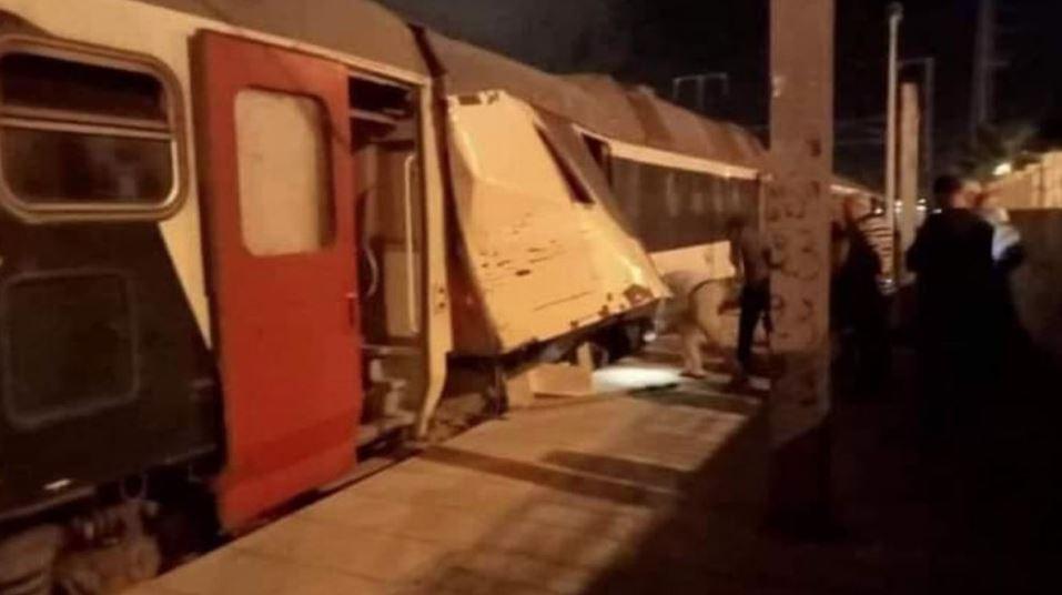 حادث اصطدام قطارين.. 33 شخصا يغادرون المستشفى