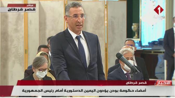 من هو وزير الداخلية توفيق شرف الدين؟