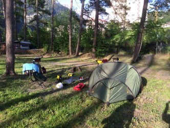 Camping in Thusis