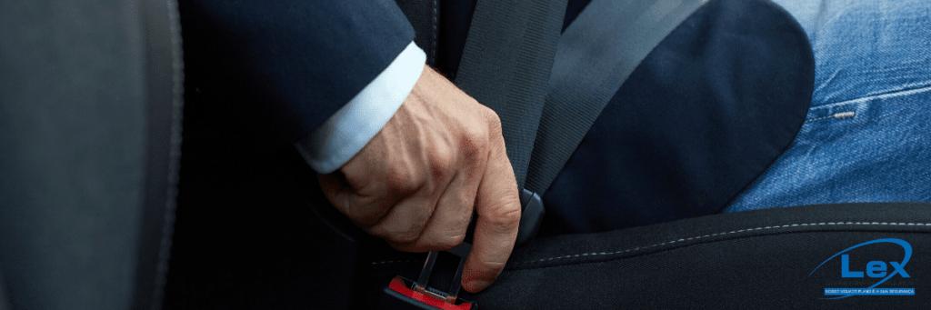 Mais segurança para os passageiros: Cinto de segurança inflável