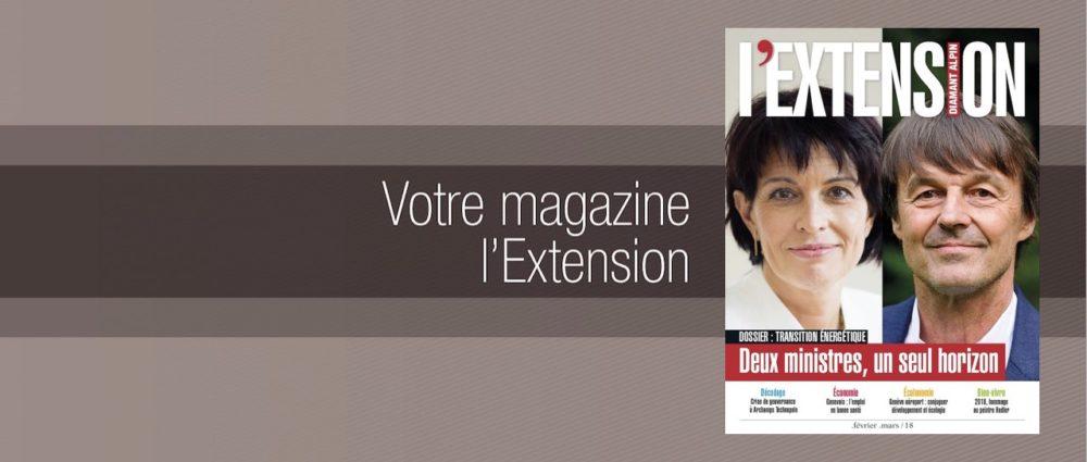 Votre magazine L'EXTENSION Février-mars 2018