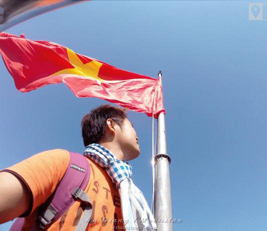 Du lịch Hà Giang, cột cờ Lũng Cú.