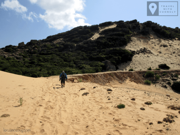 Trekking for sand-dunes, the most tired road supply in the easternmost, extremely costly.