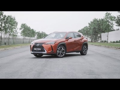 SGCM drives the new Lexus UX