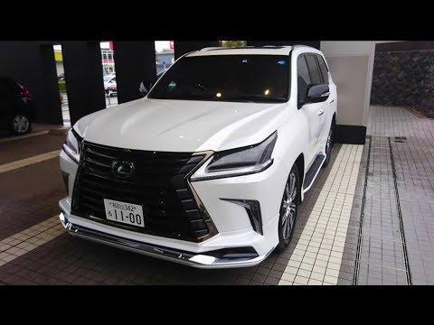 【 レクサス 新型LX570 Black Sequence 】 試乗&車両紹介!エクステリア(外装編)を撮影してきた!LEXUS 特別仕様車 lx suv