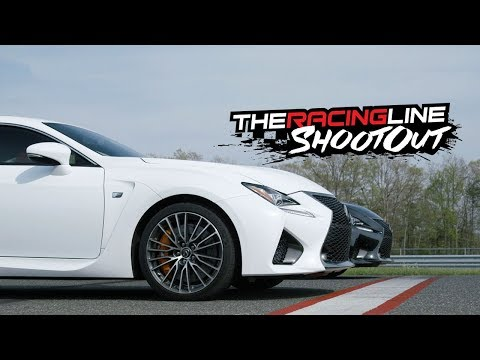 Track Battle! Randy vs Justin in the Lexus RC F, GS F & LC 500 – The Racing Line Shootout