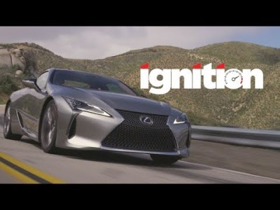 2018 Lexus LC500: Never Judge a Book by Its Cover!  – Ignition Ep. 172