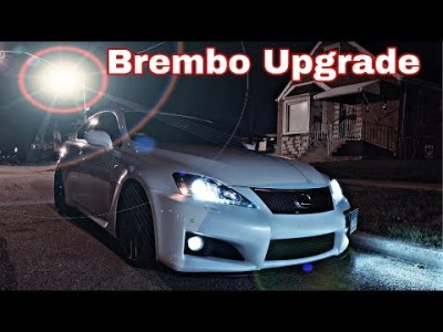 Full Bolt On Lexus IsF Gets New Brembo Brakes And NT01 Tires For The Track