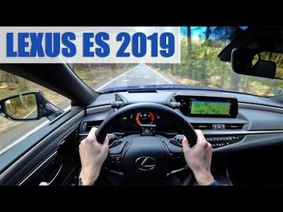 2019 Lexus ES 300h, 4K POV TEST: Ve znamení luxusu!