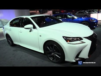 2019 Lexus GS 350 F Sport – Exterior and Interior Walkaround – 2019 Detroit Auto Show