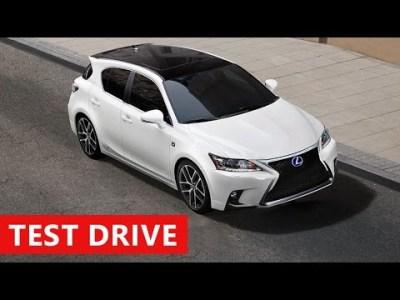 2017 Lexus CT 200h F Sport Interior & Exterior – Test Drive