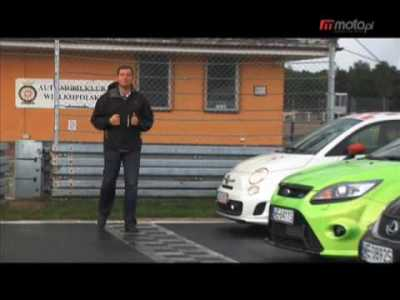 Moto.pl – test wideo | Abarth 500, Ford Focus RS, Lexus IS-F, Audi RS6
