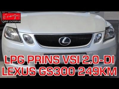Gaz do bezpośredniego wtrysku Lexus GS 300 3.0 249KM 183kW 2006r w Energy Gaz Polska!