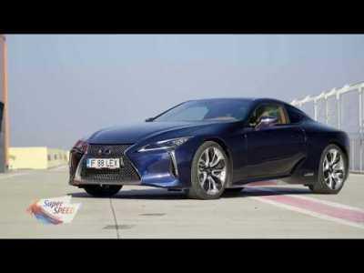 Lexus LC 500h Sport – Prezentare gama Toyota Hybrid
