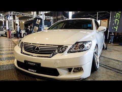 (4K)LEXUS GS350 VIPSTYLE modified レクサスGS350カスタム ドレスアップカー – NAGOYA AUTO TREND 2019