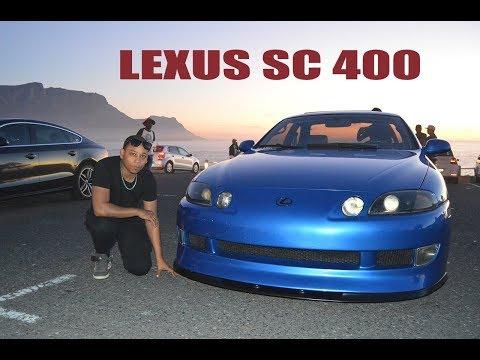 Lexus SC 400 shuts down Maidens Cove