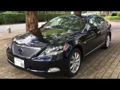 最上級レクサスLS600h オプション総額200万 新車価格1500万!