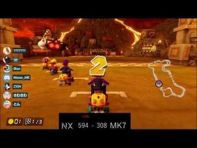 【MK8DX交流戦】NX vs MK7(即席)
