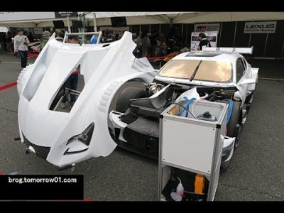 Lexus RC F Super GT GT500 : Motor Sport Japan 2016
